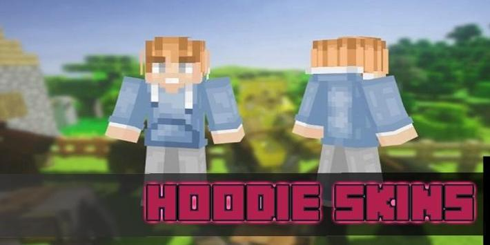 Hoodie Skins Pack for MCPE poster