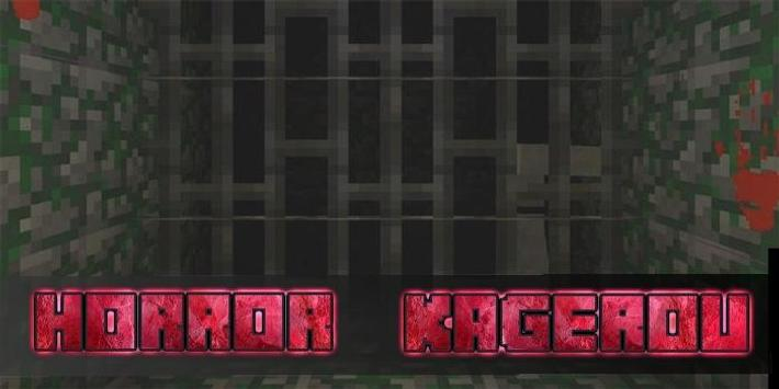 Map Kagerou Horror for MCPE poster