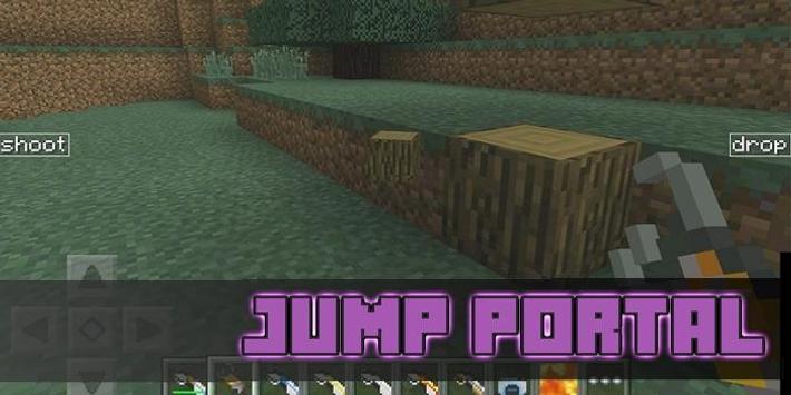 Mod Jump Portal For MCPE poster