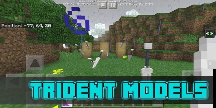 More Trident Models Pack for MCPE screenshot 1
