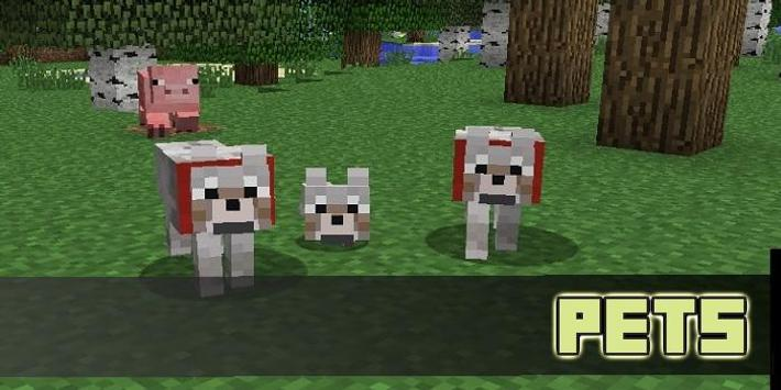 Pet MOD For MCPE poster