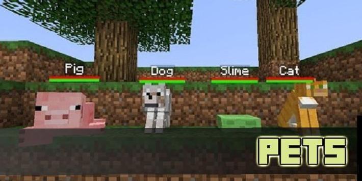 Pet MOD For MCPE screenshot 2