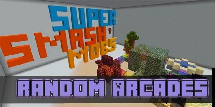 Random Arcades Map for MCPE poster