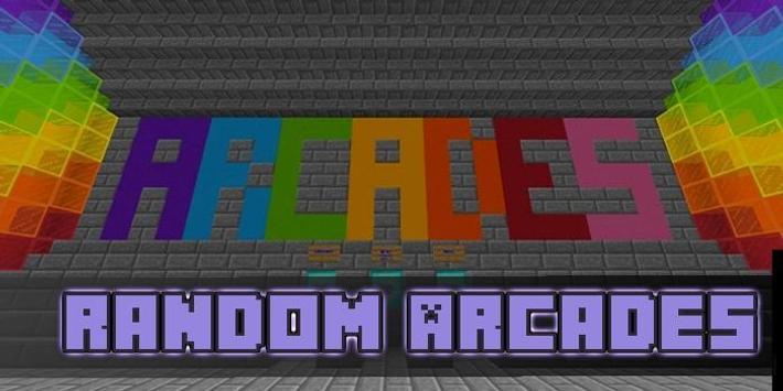 Random Arcades Map for MCPE apk screenshot