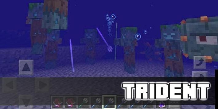 Trident Enchantments World Map for MCPE apk screenshot