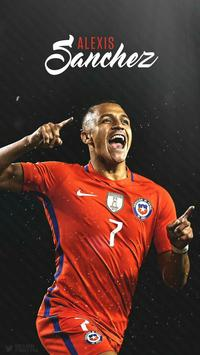 Alexis Sanchez Wallpapers screenshot 2