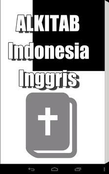 Alkitab Indonesia Inggris poster