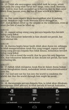 Alkitab Indonesia Inggris apk screenshot