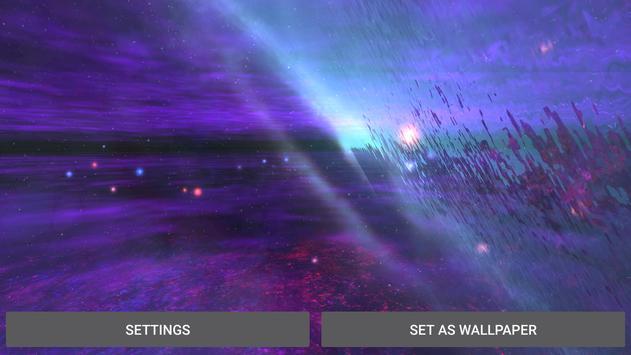 3D Alien Galaxy Live Wallpaper apk screenshot