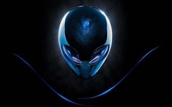 Alien Live Wallpaper Poster Apk Screenshot