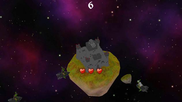 Comet Castle screenshot 2