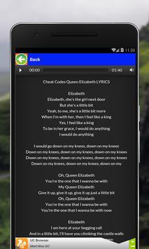 All Songs Cheat Codes apk screenshot