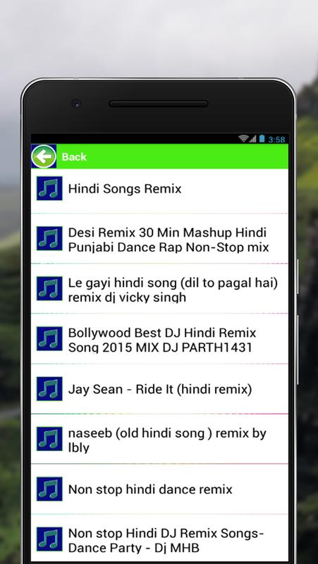 All Songs Hindi Remix cho Android - Tải về APK