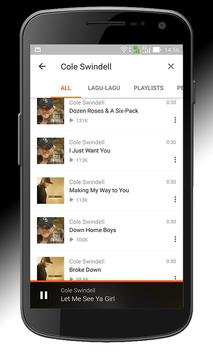 All Songs of  Cole Swindell apk screenshot