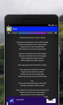 All Songs of Raees apk screenshot