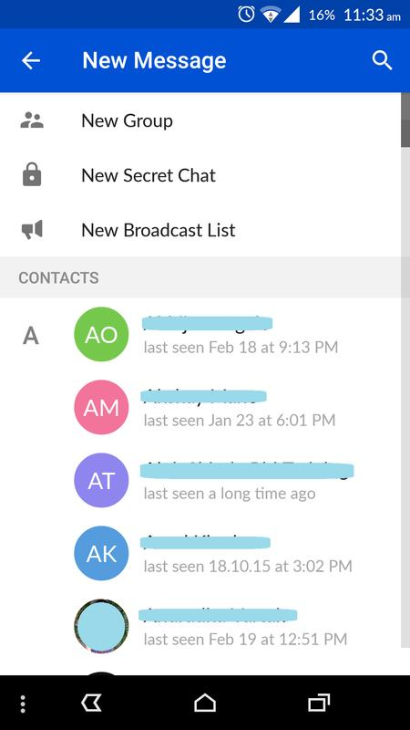 how to look at shared files messenger
