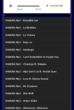 All Song Collection SHAKIRA Mp3 apk screenshot