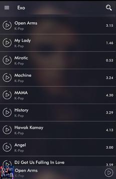 All Songs EXO screenshot 2