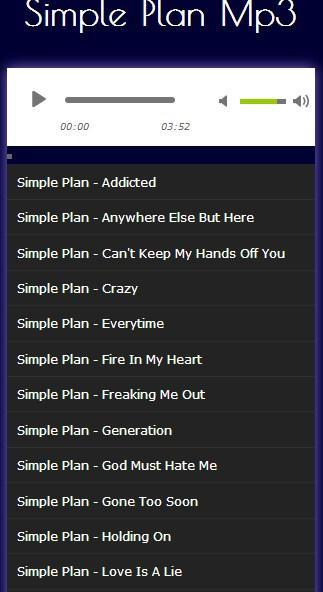 Simple plan perfect free mp3 download.