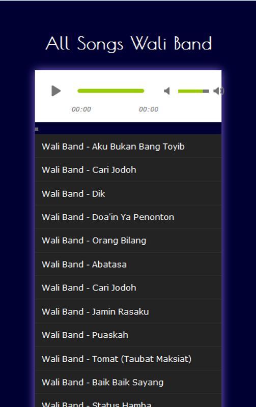 Wali band orang bilang by achmad cicevetz | album | listen for.