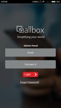 Allbox Admin poster