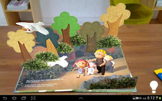 Doll play books AR VR poster