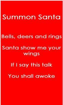 Summon Santa poster
