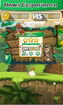 war of knife dog vs banana apk screenshot