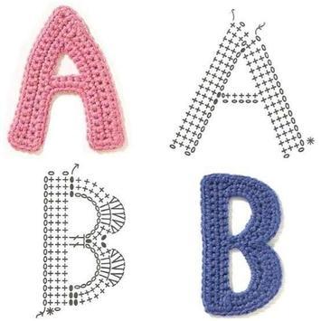 Patrones de ganchillo del alfabeto for Android - APK Download