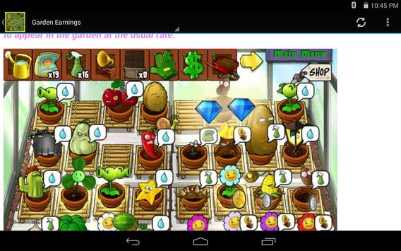 Guide For Plants vs Zombies 2 poster