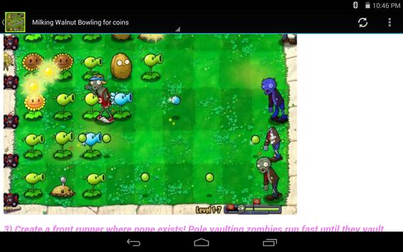 Guide For Plants vs Zombies 2 screenshot 1