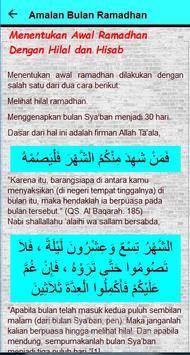 Amalan Bulan Ramadhan screenshot 19