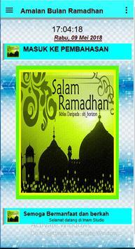 Amalan Bulan Ramadhan screenshot 1
