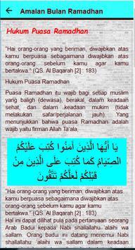 Amalan Bulan Ramadhan screenshot 4