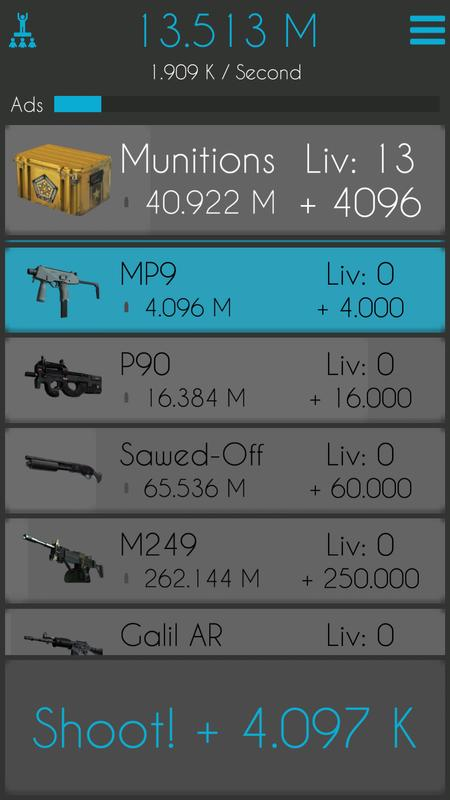 army clicker apk download free casual game for android apkpure com