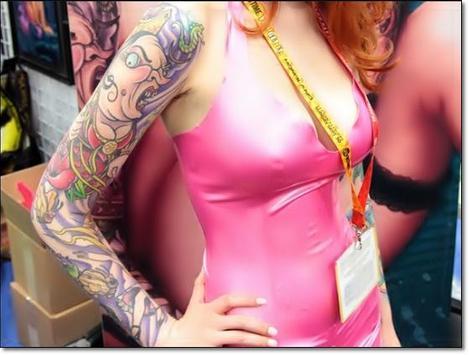 Amazing Colored Tattoo Designs apk screenshot