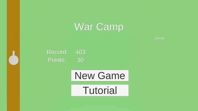 War Camp poster