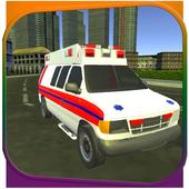Ambulance Driving Simulation icon
