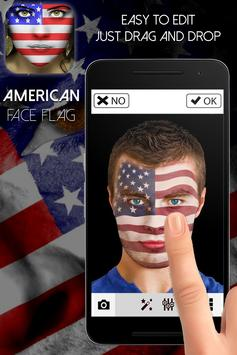 America Flag-Face Masquerade apk screenshot