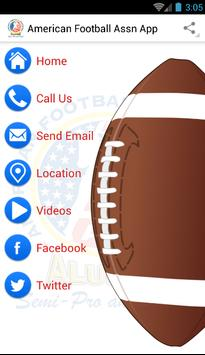 American Football Assn App poster