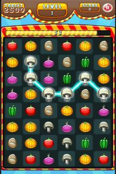 Vegetable splash apk screenshot