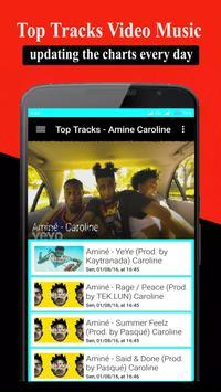 Songs & Videos AMINE CAROLINE apk screenshot