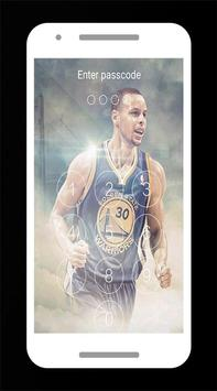 Stephen Curry Lock Screen poster