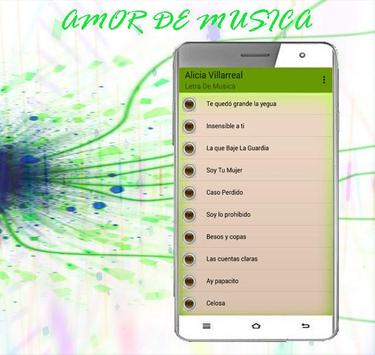 Alicia Villarreal Canciones 2017 poster