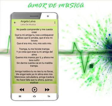 Angela Leiva Canciones 2017 apk screenshot