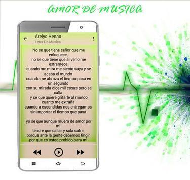 Arelys Henao Musica 2017 apk screenshot