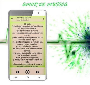 Binomio De Oro Musica 2017 apk screenshot