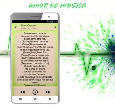 Elvis Crespo Suavemente apk screenshot