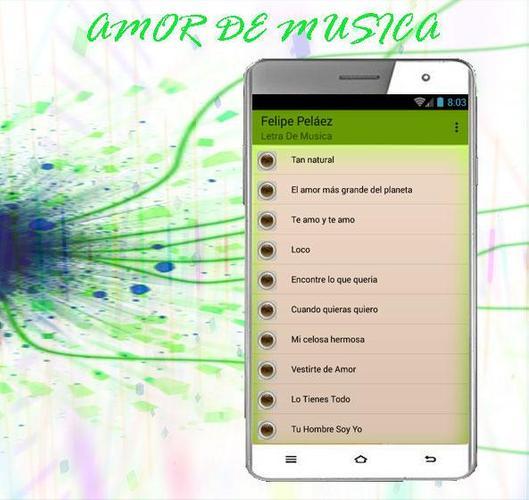 Felipe Peláez Tan Natural Canciones For Android Apk Download