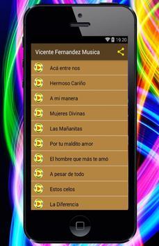 Vicente Fernandez - Canciones screenshot 1